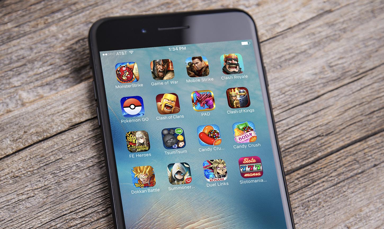 gratis spil på mobilen